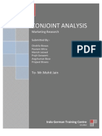 Conjoint Analysis - Final