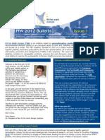 FfW Bulletin #1 April 2012