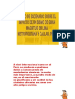 (DISEÑO DE ESCENARIO SOBRE UN GRAN SISMO I.E. BELLA AURORA 5166)