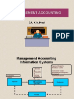 Management Accounting Overview1