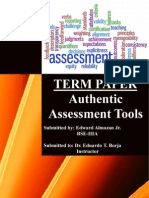 Authentic Assessment Tools