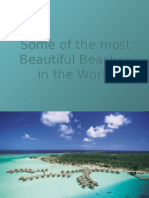 Some of the most Beautiful Beaches in the World