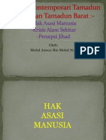 Hak Asasi Manusia,Krisis Alam Sekitar,Persepsi Jihad(Mohd Anwar Bin Mohd Nor)