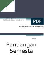 Tamadun India,Pandangan Semesta Dan Nilai2 Yg Releven(Muhammad Arif)