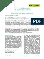 Bio Markers Its Novel Application