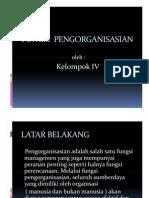 Manajemen Slide Fungsi Pengorganisasian