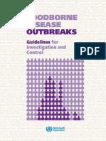 WHO - Foodborne Disease Outbreaks
