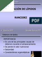 ALTERACIÓN DE LÍPIDOS