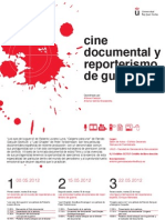 Cine Documental Reporterismo Guerra-1