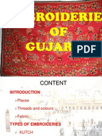 Embroidery of Gujrat