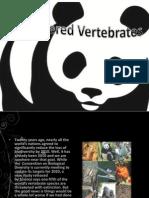 Endangered Vertebrates