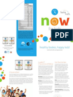 Kids Now Brochure