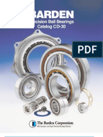 FAG-Barden Precision Ball Bearings
