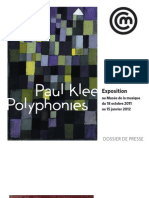 Exposition Paul Klee Polyphonies