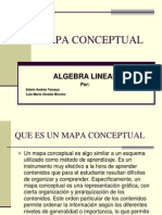 Mapa Conceptual Algebra Lineal