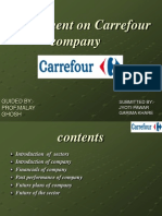 Assignment on Carrefour Company