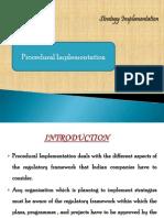 Procedural Implementation