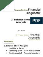 2. Balance Sheet Analysis 1