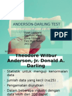Anderson Darling Test