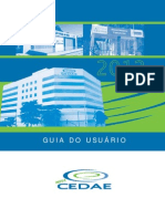 CEDAE - GUIA DO USUÁRIO 2012