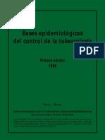 Bases epidemiológicas del control de la tuberculosis