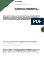 2346 Ciber Ataques en America Latina