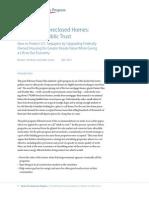 Retrofitting Foreclosed Homes