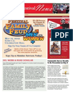 2012 May Newsletter