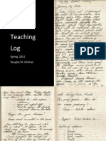 Student Teaching Log