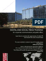 Digital Corporate PR and Social Media Training