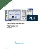 Service Manual SMBV100A