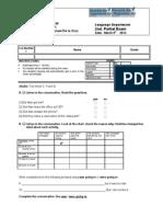 Examen Second Partial Remedial 3 1st Term 2012 V2