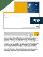 Virtualizacion e Infraestructura de Cloud en SAP Cesar Martin SAP