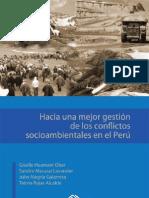 Hacia una mejor gestión de los conflictos socioambientales