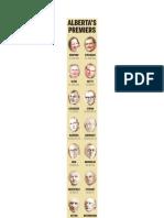 Alberta Premiers