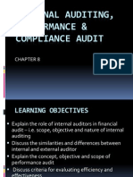 BKAA 3023 - Topic 8 - Internal Auditing Performance and Compliance Audit