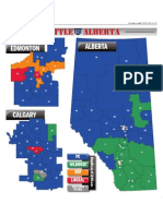 2012 Election results maps