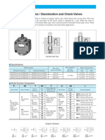 Yuken Deceleration Valves