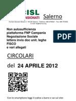 Circolari Del 24 APRILE 2012