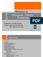 Derivative Pakistan Perspective