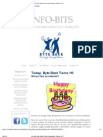 Byte Back's Online Newsletter, October 2011