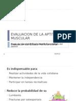 Evaluacion de La Aptitud Muscular