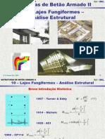10 Lajes fungiformes- Análise Estrutural