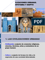 Civilizaciones Urbanas. Mesopotamia