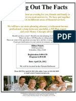 Finding Out the Facts - Invitation - April 26 2012