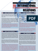 Japanese Int'l Relations - June 2007