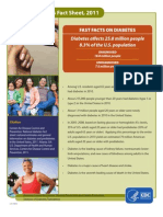 National Diabetes Fact Sheet, 2011