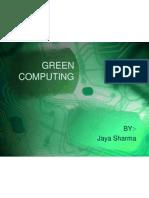 Green Computing ppt