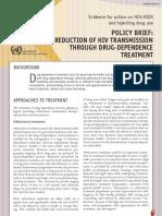 Drug Dependence Treatment En
