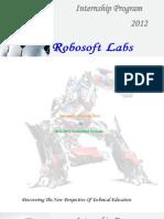 Winter Internship Program 2012 (Robotics & Embedded C, 8051/8052 Embedded Systems,Matlab, Industrial automation, Basic robotics and Advanced robotics & Embedded Systems)